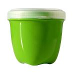 Preserve Apple Green Mini Round 8 Ounce Single Storage Container