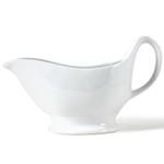 Omniware White Porcelain Gravy Boat, 12 Ounce