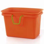 Full Circle Orange Scrap Happy Scrap Collector and Freezer Compost Bin
