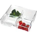 Artland Simplicity Glass 4 Section Server