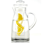 Artland Simplicity Glass Flavor-Infusing Pitcher, 78 Ounce