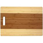 Helen Chen Two-Tone Bamboo Cutting Board, 10 x 15 Inch