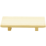 Helen Chen Asian Kitchen Bamboo Sushi Serving Tray