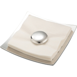 Nambe Stone Alloy Napkin Holder