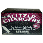 Leland Mr. Fizz CO2 Soda Siphon Chargers, 10 Count