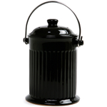 Norpro Black Ceramic Compost Keeper