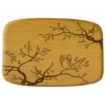 Talisman Designs Nature Owl Beechwood Cheese Board