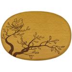 Talisman Designs Nature Bird Nest Beechwood Cheese Board