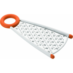 Chef'n Dual Grater Apricot 2 in 1 Stainless Steel Cheese Grater