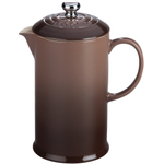 Le Creuset Truffle Stoneware 27 Ounce French Press Coffee Maker