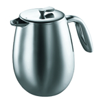 Bodum Columbia Thermo Press for Coffee or Tea, 8 Cup