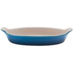 Le Creuset Heritage Marseille Blue Stoneware Petite Au Gratin Dish, 6 Ounce
