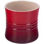 Le Creuset Cherry Stoneware 2.75 Quart Utensil Crock
