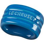 Le Creuset Marseille Blue Stoneware Napkin Ring
