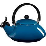Le Creuset Marseille Blue Enamel On Steel 1.5 Quart Zen Tea Kettle