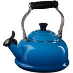 Le Creuset Marseille Blue Enamel On Steel Whistling Tea Kettle, 1.75 Quart