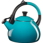 Le Creuset Caribbean Enameled Steel 1.9 Quart Oolong Tea Kettle