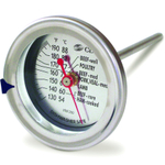 CDN InstaRead Stainless Steel Extra Large Ovenproof Meat and Poultry Thermometer