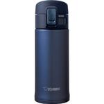 Zojirushi Smoky Blue Stainless Steel Vacuum Insulated Flip Top Mug, 12 Ounce