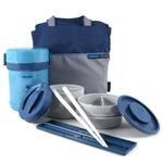 Zojirushi Ms. Bento Aqua Blue Stainless Lunch Jar