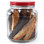 Anchor Hocking Glass 2 Quart Cracker Jar with Lid