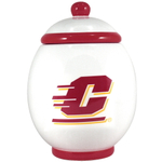 Central Michigan University Chippewas Ceramic Cookie Jar