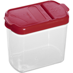 Progressive International Red and White Mini Dry Ingredient Keeper