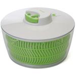 Progressive International White and Green Salad Spinner, 4 Quart