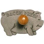 Norpro Cast Iron Pig Bacon Crisper Press