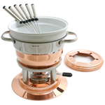 Swissmar Lausanne Copper 11 Piece Fondue Set
