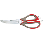 Swissmar Dalla Piazza Red and Grey All Purpose Kitchen Scissors