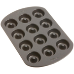 Wilton Stainless Steel Nonstick 12 Cavity Mini Doughnut Pan
