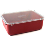 Click Clack Red Locking Everyday Storage Container, 6 Quart