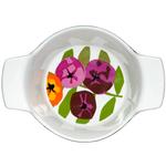 Sagaform Season Floral Stoneware Serving Bowl