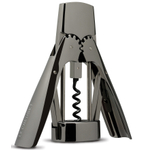 Le Creuset Black Nickel Winged Lever Wine Bottle Opener
