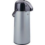 Zojirushi Air Pot Silver Stainless Steel Beverage Dispenser, 74 Ounce