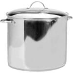 RSVP Endurance Stainless Steel Water Bath Canner Set with Jar Rack, 20 Quart