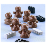 Silikomart Stampo Brown Silicone Mood Chocolate Mold, 12 Piece