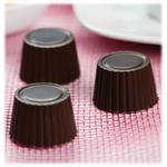 Silikomart Stampo Brown Silicone Praline Chocolate Mold, 15 Piece