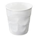Revol Froisses White Porcelain Crumple Buffet Jar