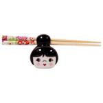 Talisman Designs Cutie Pie Black Chopstick Holder