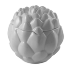 Summit White Ceramic Artichoke Storage Container, 3 Cup