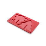 Lekue Large 3D Red Silicone Christmas Tree Mold