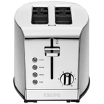 Krups Breakfast Stainless Steel 2 Slice Toaster