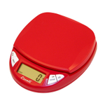 Escali Pico Cherry Red Digital Scale, 11 pound