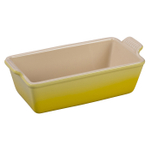Le Creuset Heritage Soleil Yellow Stoneware Loaf Pan, 1.5 Quart