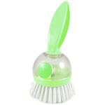 Casabella Lime Loop Soap Dispensing Dish Brush