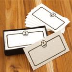 Homart Anchor Printed Handmade Paper Card, Set of 32