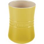 Le Creuset Soleil Yellow Stoneware Utensil Crock, 1 Quart