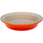 Le Creuset Heritage Flame Stoneware Pie Pan, 9 Inch